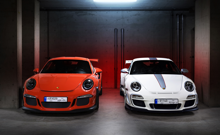 Private Porsche Collection